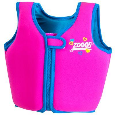 Zoggs Girls Neoprene Fixed Foam Swim Jacket