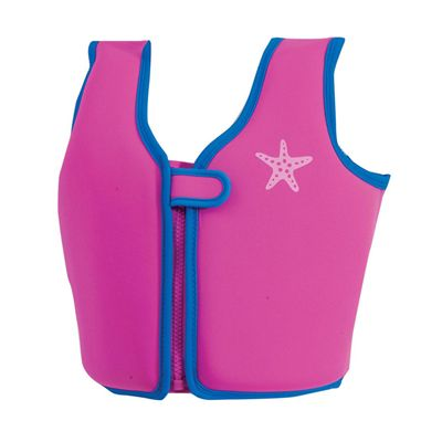 Zoggs Girls Neoprene Swim Pink Jacket