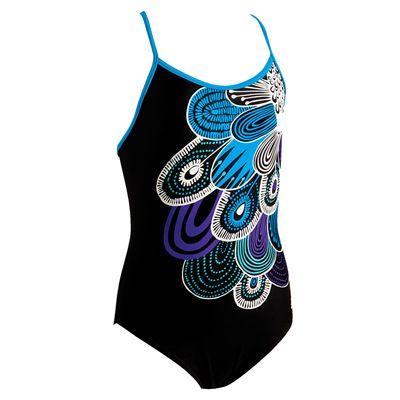 Zoggs Goodwin Spliceback Girls Swimsuit