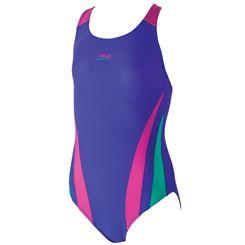 Zoggs Hippy Garden Byron Crossback Girls Swimsuit