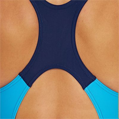 Zoggs Katherine Actionback Ladies Swimsuit - Back - Zoomed