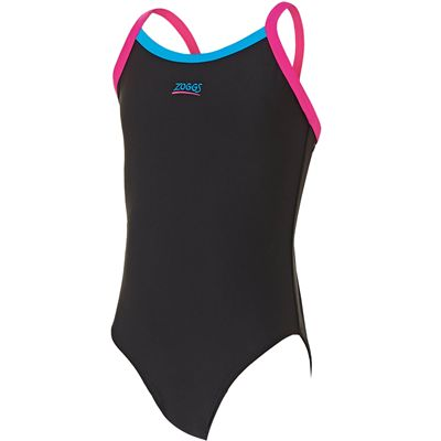 Zoggs Kerrawa Strikeback Girls Swimsuit