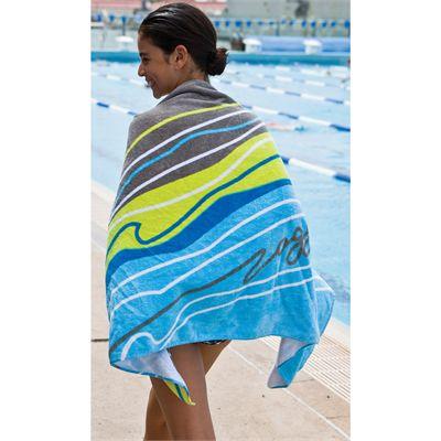 Zoggs Koolan Towel  In Use