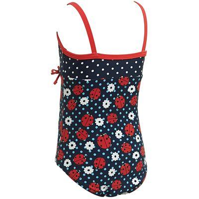 Zoggs Ladybug Classicback Girls Swimsuit - Back