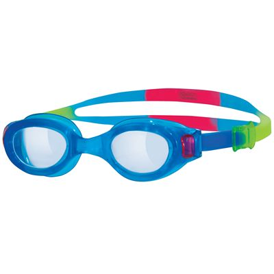 Zoggs Little Phantom Swimming Goggles-Clear Lens And Blue Frame