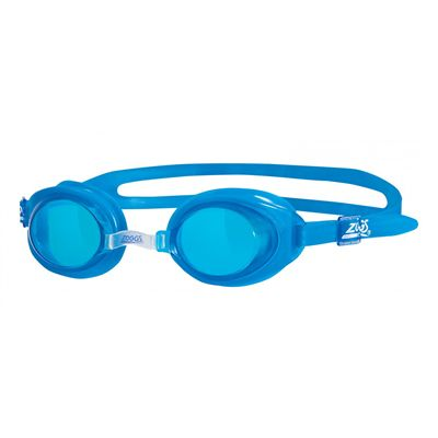 Zoggs Little Ripper Kids Swimming Goggles-Blue and Blue-Main Image