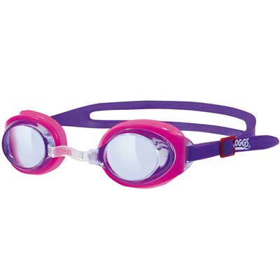 Zoggs Little Ripper Kids Swimming Goggles-Pink and Purple