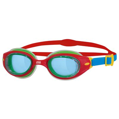 Zoggs Little Sonic Air Kids Swimming Goggles SS17-blue-red