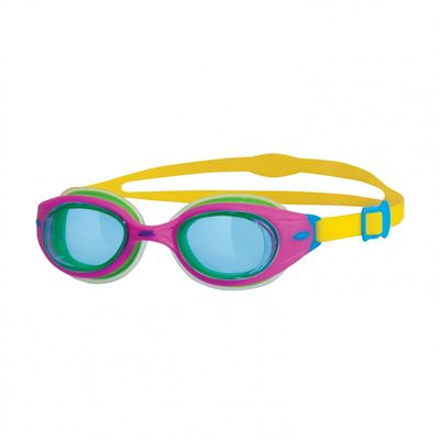Zoggs Little Sonic Air Junior Swimming Goggles-Blue and Pink