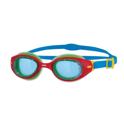 Zoggs Little Sonic Air Junior Swimming Goggles-Blue and Red
