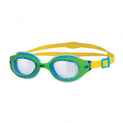Zoggs Little Sonic Air Junior Swimming Goggles-Green