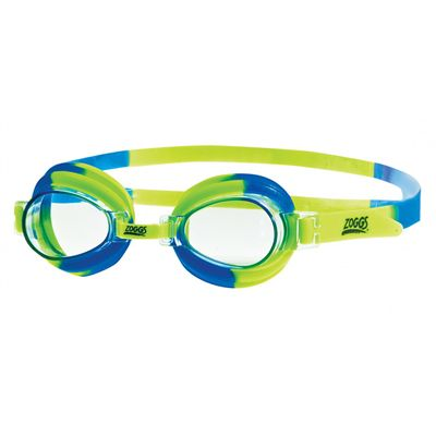 Zoggs Little Swirl Swimming Goggles-green and blue - Main Image