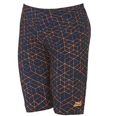 Zoggs Maze Boys Jammer - Orange
