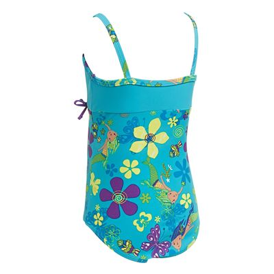 Zoggs Mermaid Flower Classicback Infant Girls Swimsuit- Back