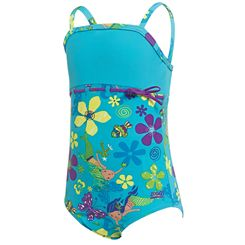 Zoggs Mermaid Flower Classicback Girls Swimsuit