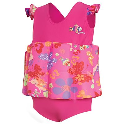 Zoggs Mermaid Flower Learn To Swim Floatsuit