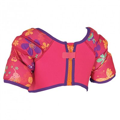 Zoggs Mermaid Flower Water Wing Vest-back