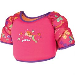 Zoggs Mermaid Flower Water Wing Vest