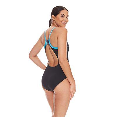 Zoggs Minnamurra Strikeback Ladies Swimsuit - Side