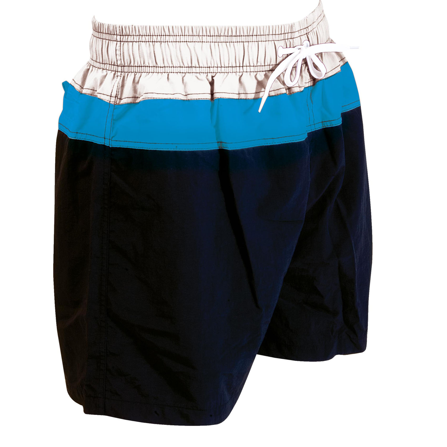 Zoggs Muriwai 17 inch Shorts - Black/Blue, S