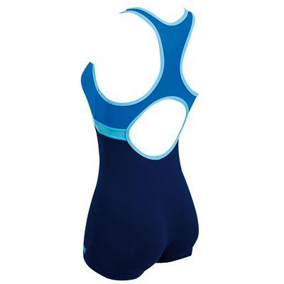 Zoggs Nelson Legsuit Ladies Swimsuit - Back