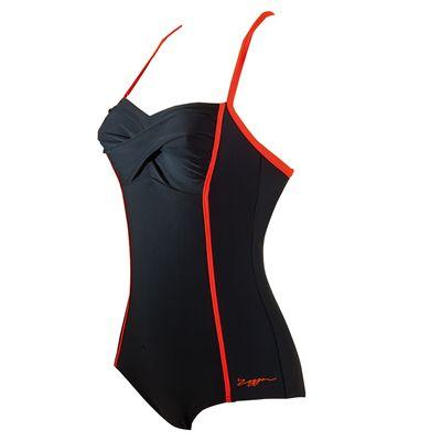 Zoggs Neon Tribal Twist Booty Ladies Swimsuit