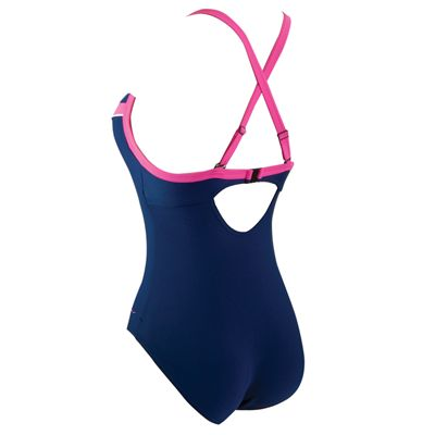 Zoggs New Resort Tarcoola Boost Ladies Swimsuit - Back