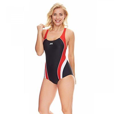 Zoggs Noosa Flyback Ladies Swimsuit - Front2