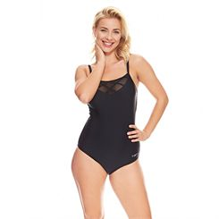 Zoggs Nouveau Deco Mesh Classic Back Ladies Swimsuit