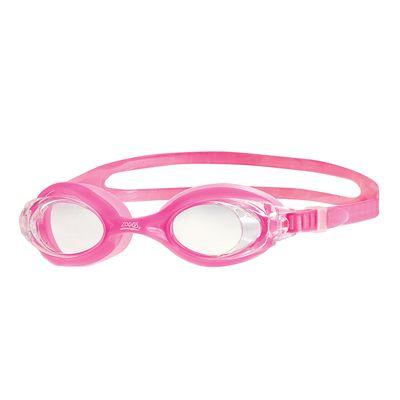 Zoggs Optima Junior Goggles - Pink/Clear