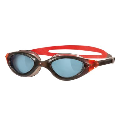 Zoggs Panorama Swimming Goggles-Black frame with sm oke lenses