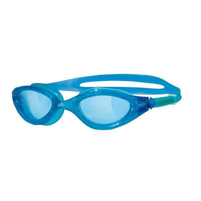Zoggs Panorama Swimming Goggles-Blue frame with blue lenses