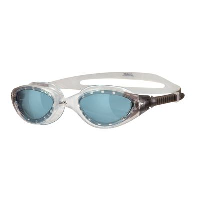 Zoggs Panorama Swimming Goggles-Clear frame with sm oke lenses