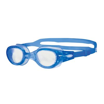 Zoggs Phantom Elite Swimming Goggles-Clear and Blue