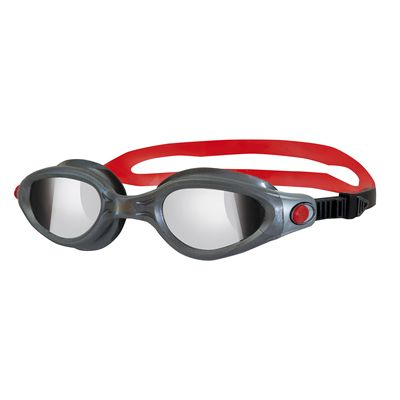 Zoggs Phantom Elite Swimming Goggles-Mirror and Gunmetal