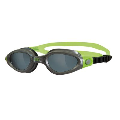 Zoggs Phantom Elite Swimming Goggles-Smoke and Gunmetal