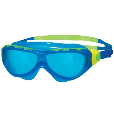 Zoggs Phantom Junior Swimming Mask-Blue and Blue