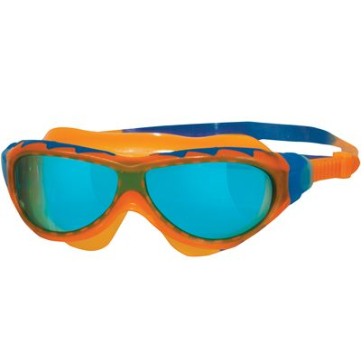 Zoggs Phantom Junior Swimming Mask-Blue and Orange