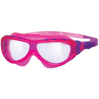 Zoggs Phantom Junior Swimming Mask-Clear and Pink
