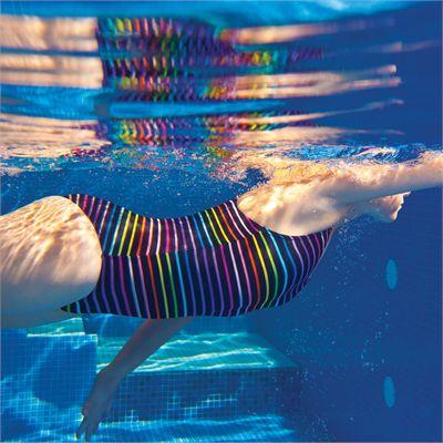 Zoggs Piha Powerback Girls Swimsuit