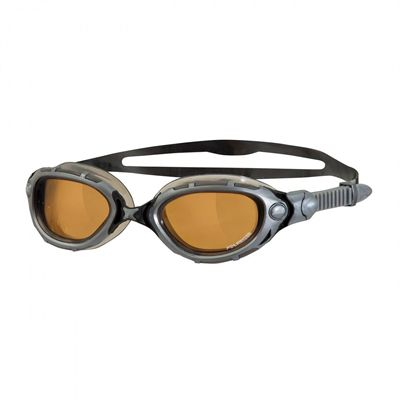 Zoggs Predator Flex Polarized Ultra Swimming Goggles - silver