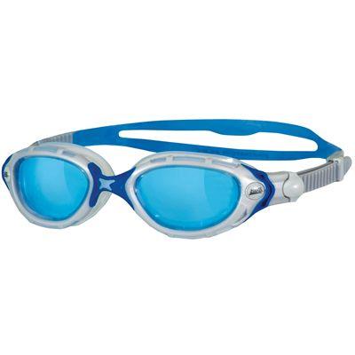 Zoggs Predator Flex Swimming Goggles-Blue-White