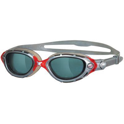 Zoggs Predator Flex Swimming Goggles-Smoke and Silver