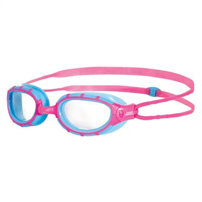 Zoggs Predator Junior Swimming Goggles-Blue and Pink
