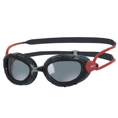 Zoggs Predator Polarized Swimming Goggles - Red