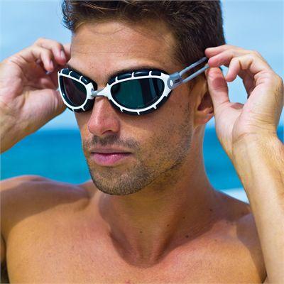 Zoggs Predator Polarizsed Swimming Goggles In Use