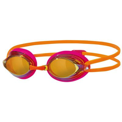 Zoggs Racespex Mirror Swimming Goggles - Gold/Pink