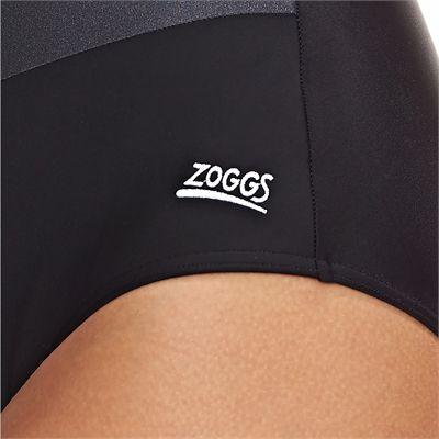 Zoggs Sandon Scoopback Ladies Swimsuitn - Logo