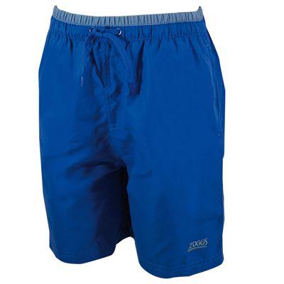 Zoggs Sandstone 15 Inch Boys Swimming Shorts - Blue