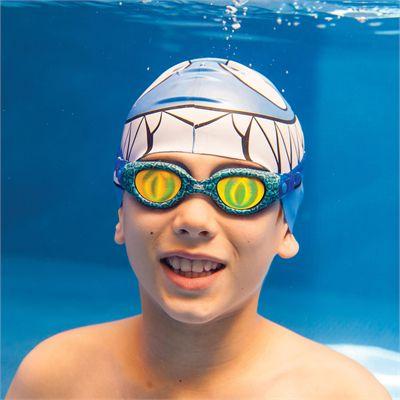 Zoggs Sea Demon Junior Swimming Goggles In Use